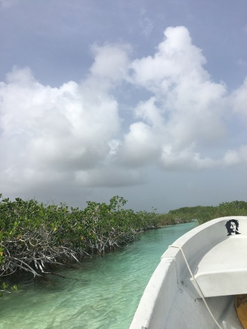 Lagune du Muyil et ses canaux
