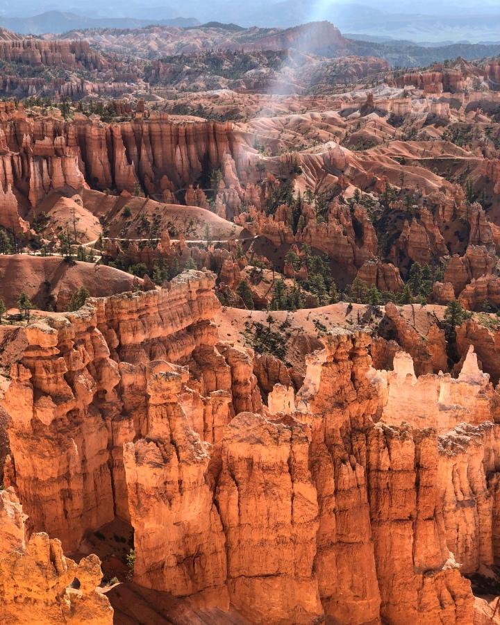 Roadtrip sur la côte Ouest des Etats-Unis : De Zion park à Bryce Canyon (112km-1h20)